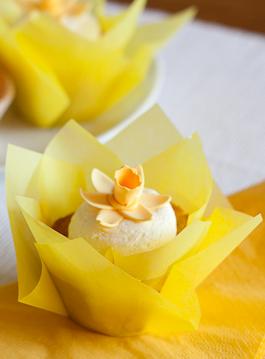 Cupcakes com Pasta de Abóbora
