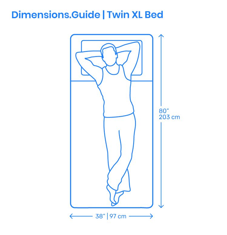 The Twin Xl Bed Is A Compact Bed Having A Modern But Classy Frame