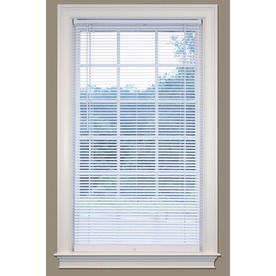 Safetrac 1 In Cordless White Vinyl Room Darkening Mini Blinds Common 43 In Actual 42 5 In X 64 In 90140 Products Vinyl Mini Blinds Shades Blinds Blin