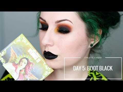 LIMECRIME VENUS II - DAY 5: BOOT BLACK | 1 PALETTE FOR A WEEK - YouTube