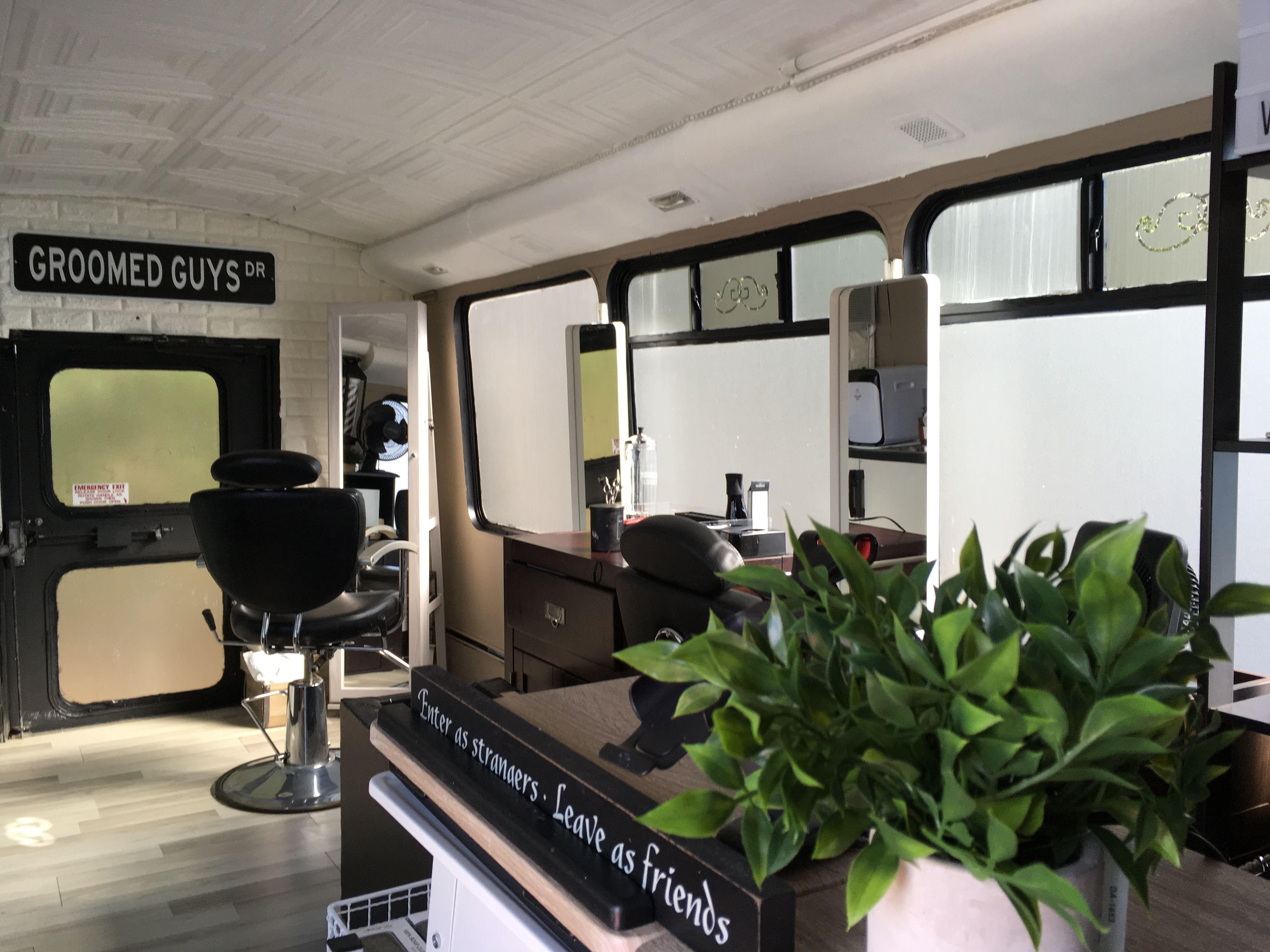 Classic barbershop on wheels 2019 design  Weddings and
