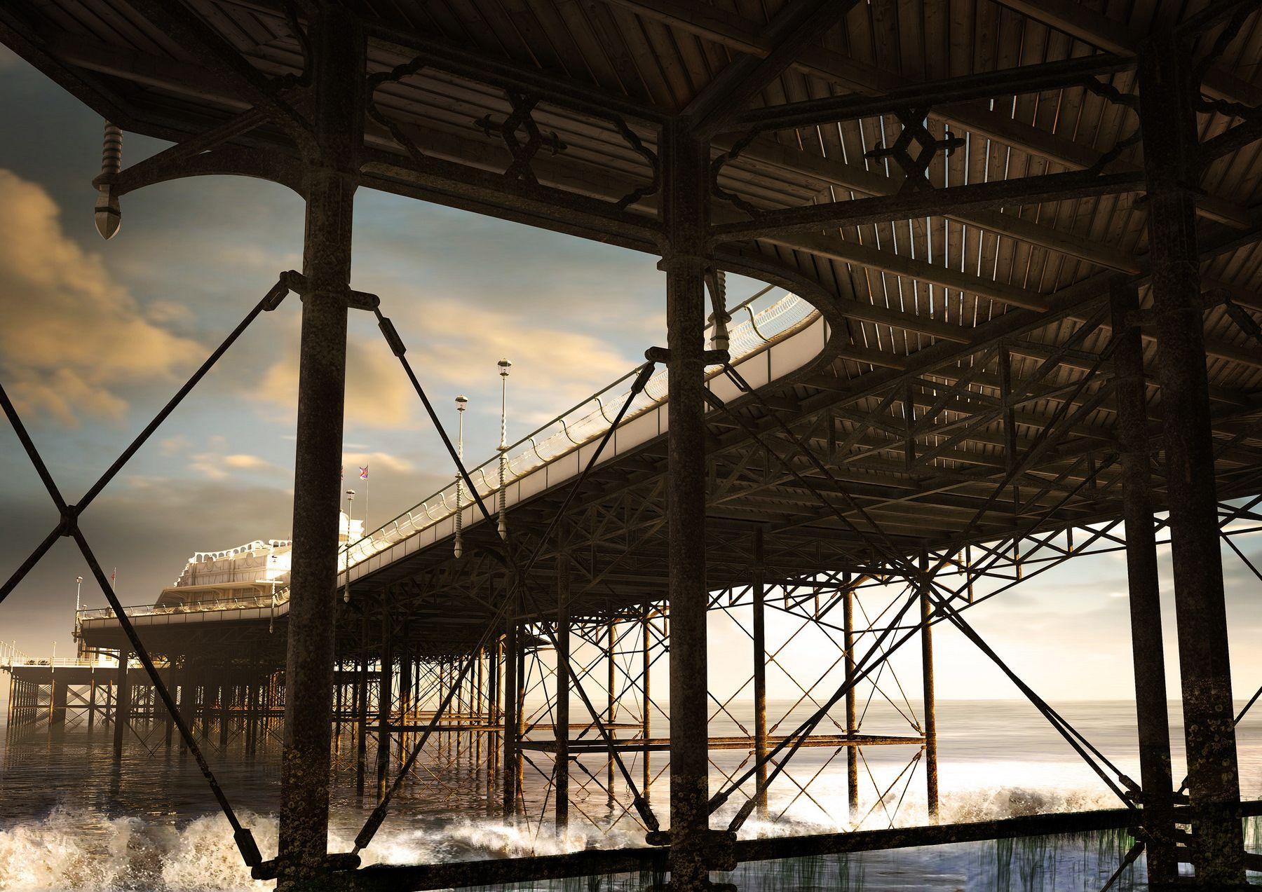 3D re-creation of derilict West Pier in Brighton