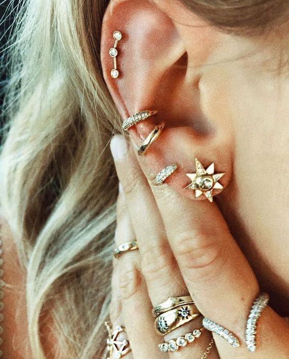 Gorgeous Jewellery #earpiercingideas