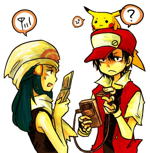 5c87cba4 Wait, what's that? Wi-fi only trade dude~! | Geeky Stuff | Pokemon ...