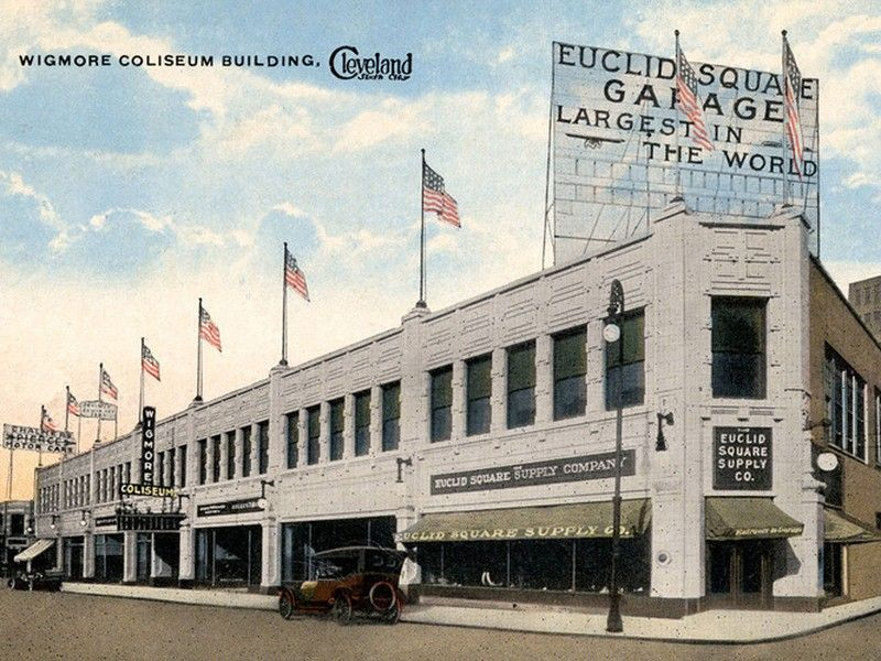 Largest garage in the world the euclid square garage