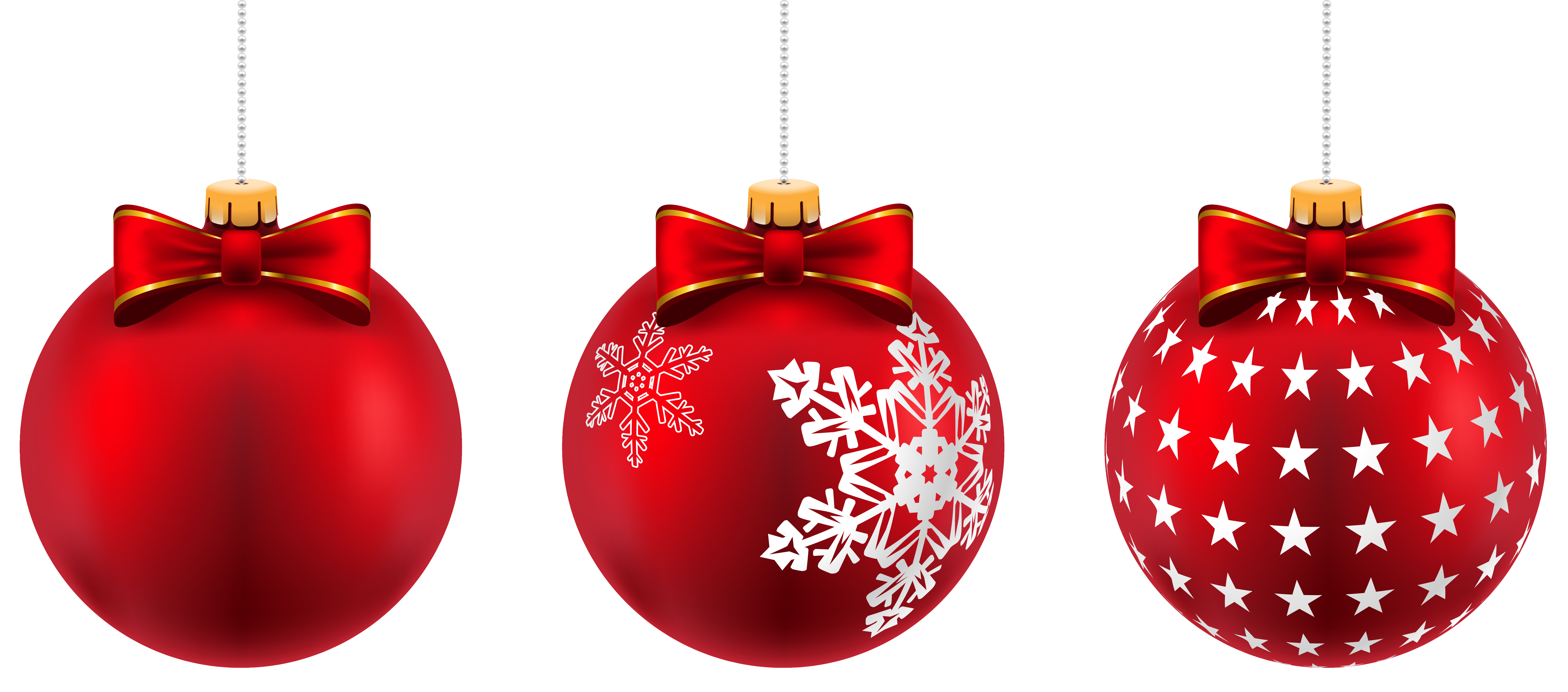 Beautiful Red Christmas Balls Png Clip Art Image Gallery Yopriceville High Quality Images And Transpar Christmas Balls Image Christmas Balls Red Christmas