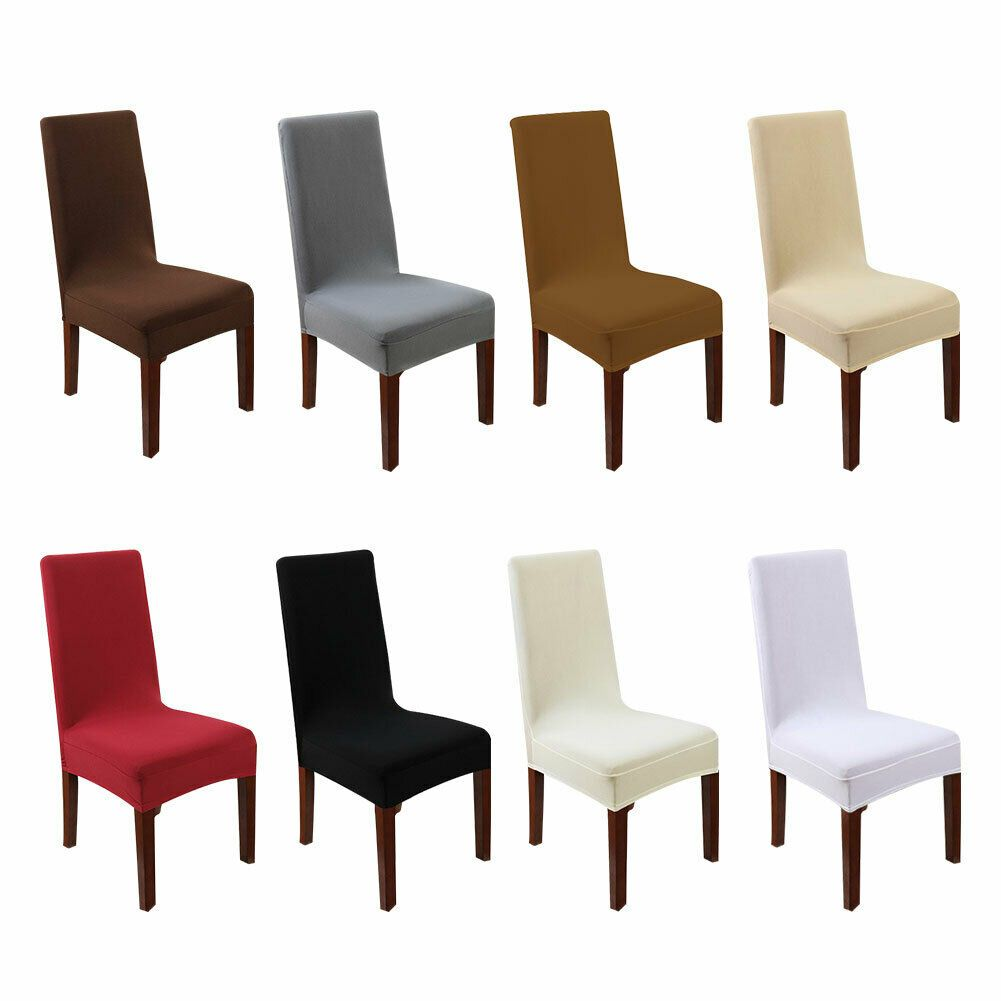 Stretch Chair Seat Cover Removable Slipcover Dining Room Party Sofa Case Cover Kitchen Sofa Id Dining Room Seating Dining Room Sofa Dining Room Seat Covers