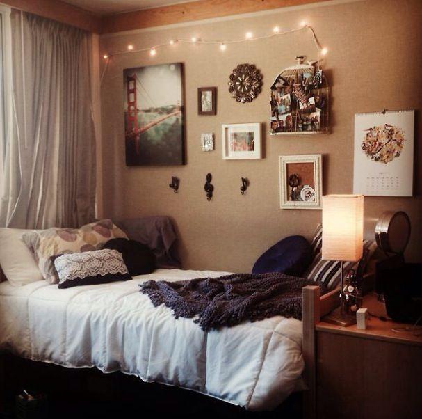 Dorm Room From University Of California, Santa Barbara Love The Wall  Decorations Part 64