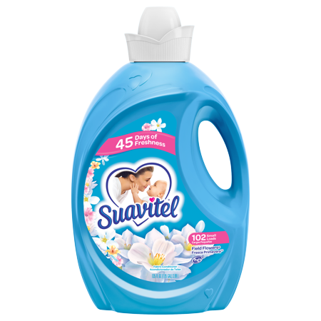 Suavitel Fabric Softener Field Flowers 102 Small Loads Walmart
