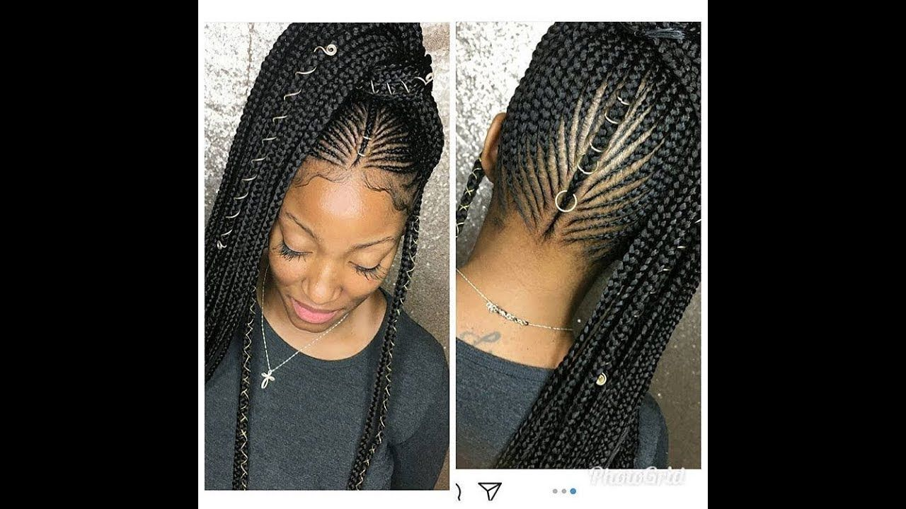 braided hairstyles 2018 : latest weave styles for your stylish new