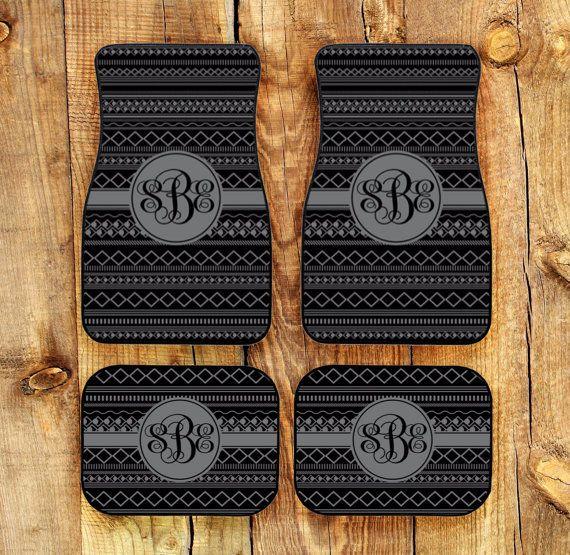 Car Mats Monogrammed Gifts Personalized Custom Floor Mats Cute Car ...