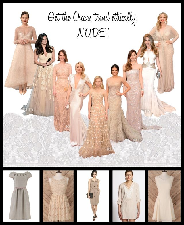 get the nude oscars trend from ethical sources!