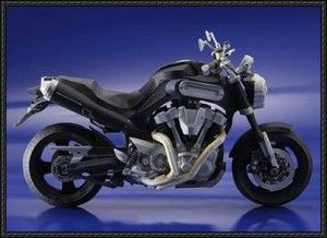 Yamaha Papercraft - Yamaha MT-01 Motorcycle Free Download | PaperCraftSquare.com