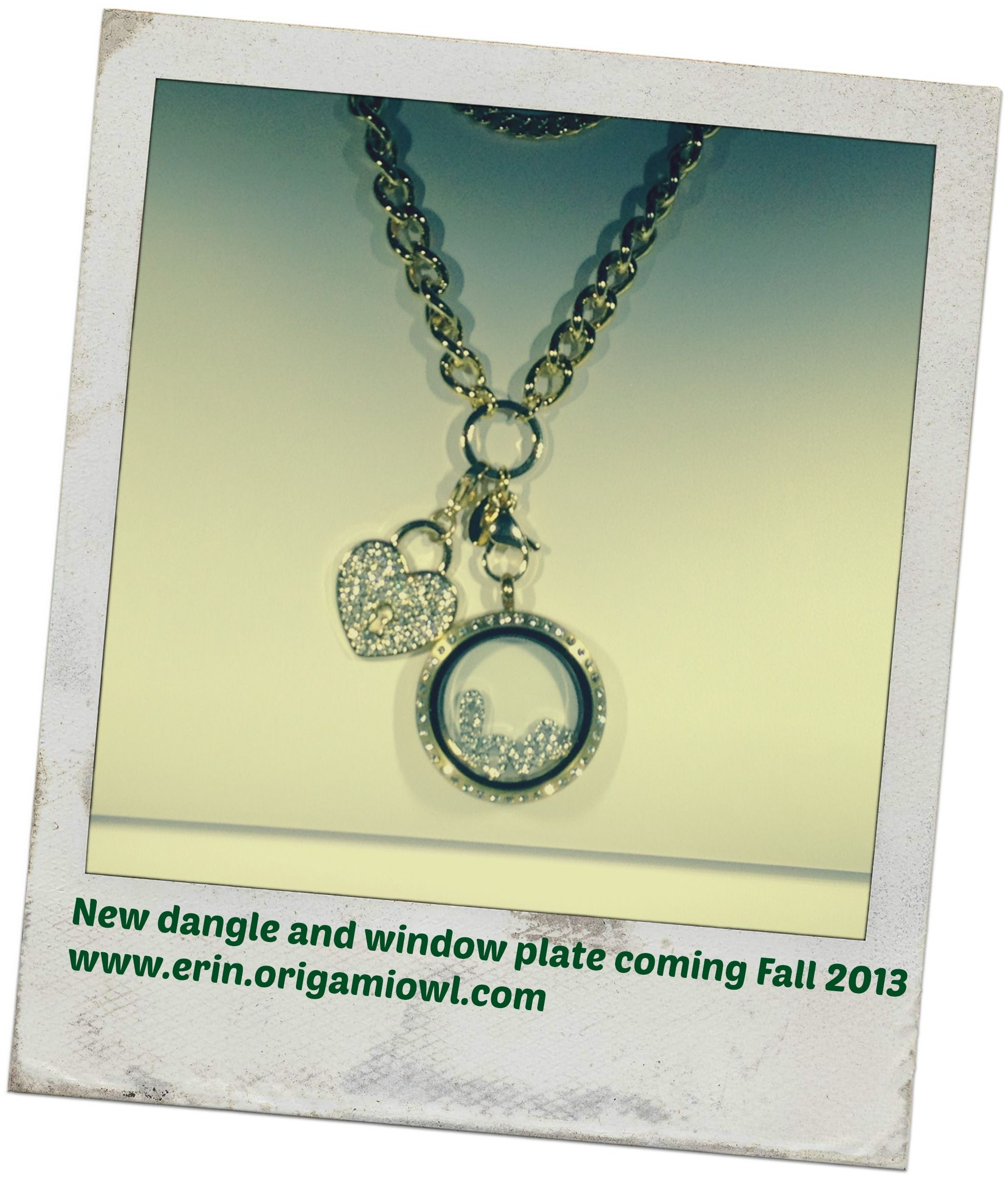 Gold is trending and this new dangle and chain are