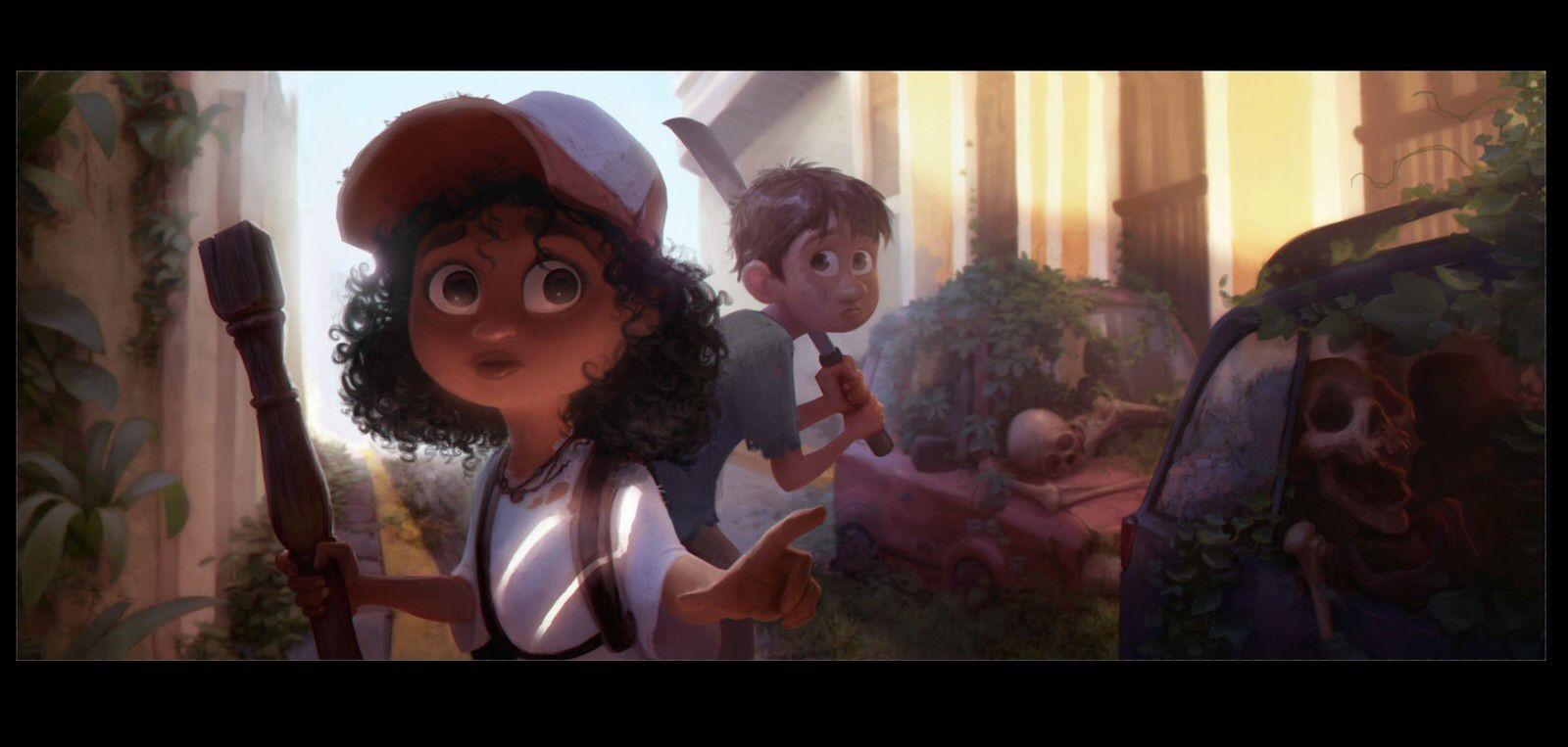 Jake Panian Animation design, Painting, Illustration