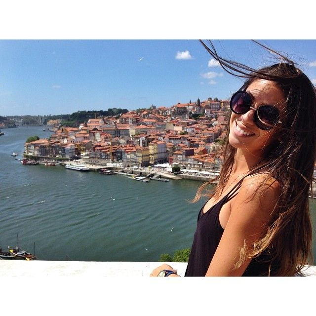 Crossing the Douro river and enjoying the view from the otherside #Ribeira #Porto