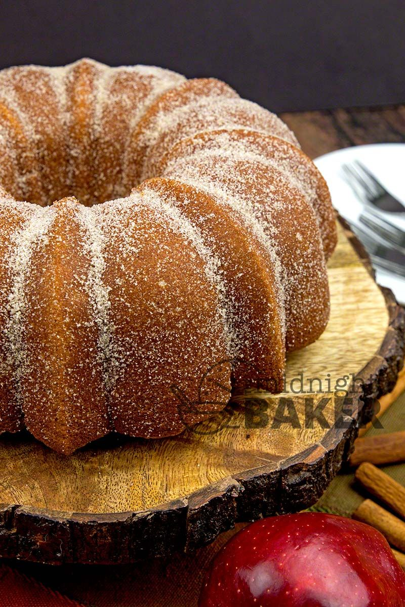 If you love apple cider donuts, you'll flip for this cake! Great Donut Taste In A Cake This cake tastes exactly like apple cider donuts! It's probably less fat too–although I'm not entirely sure. MY LATEST VIDEOS I consider myself somewhat of an expert on apple cider donuts as I used to make them commercially...Read More » #donutcake