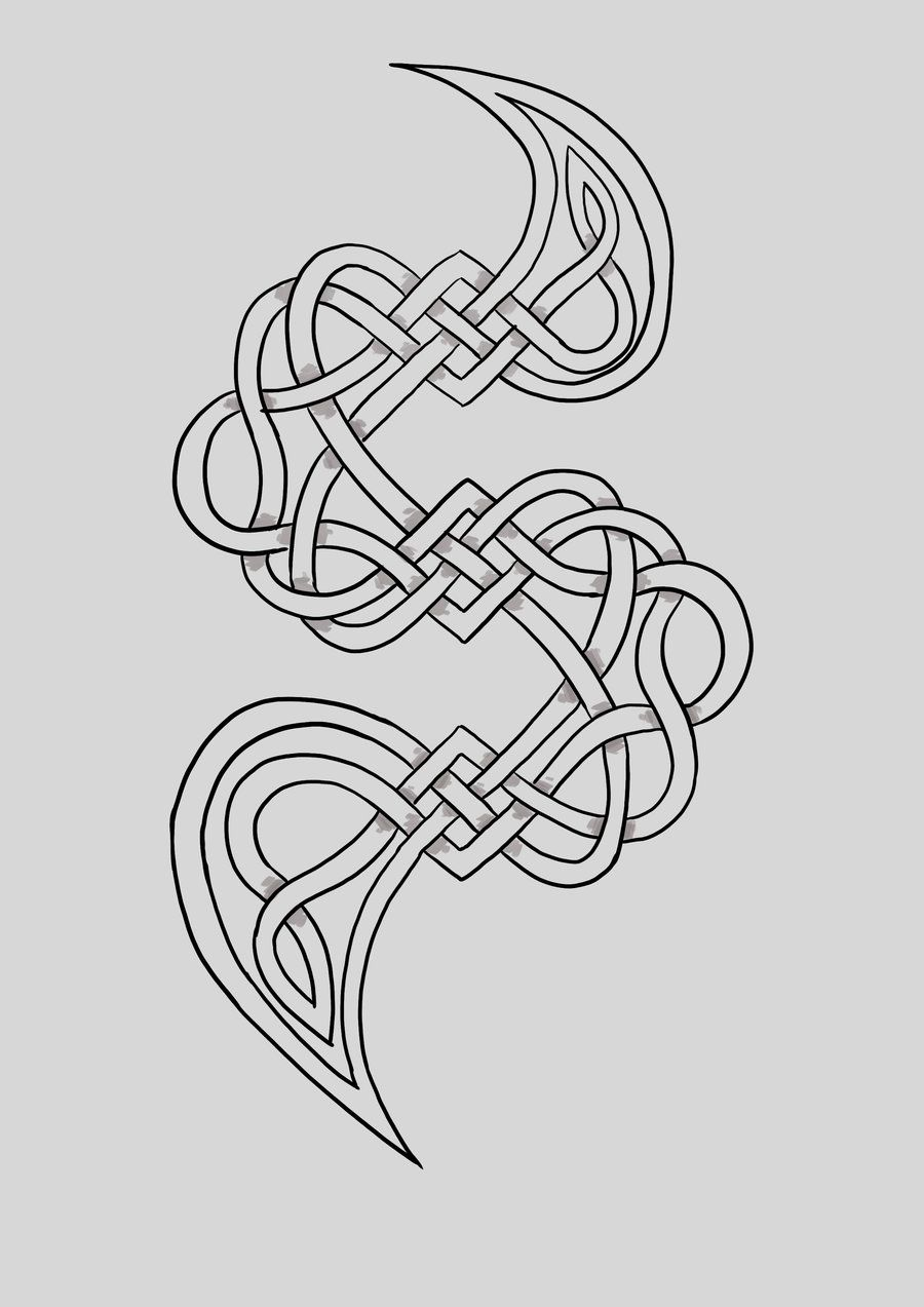 Celtic Knot S by i-am-mighty.deviantart.com on @deviantART | Symbole ...