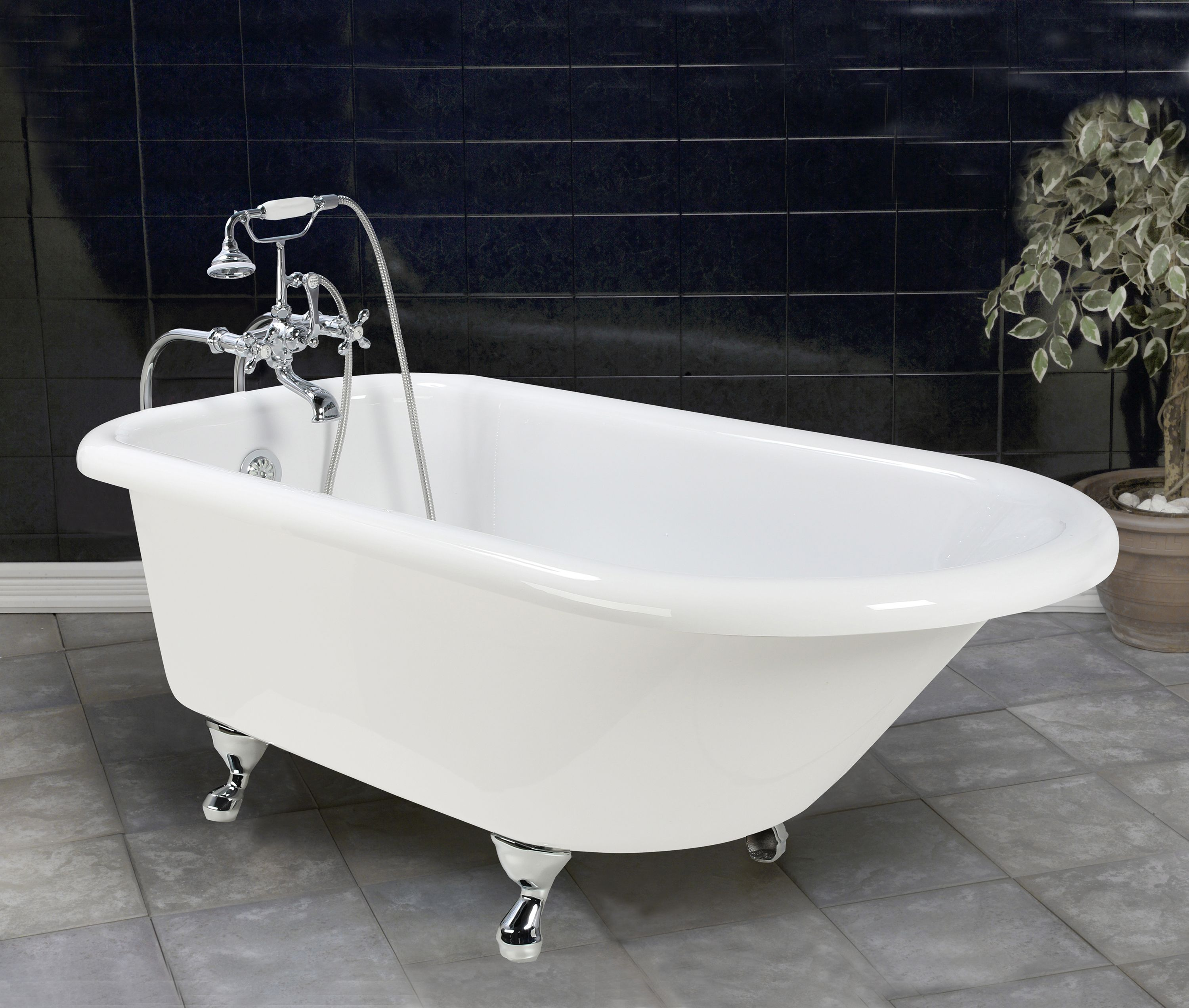 Old Bathtubs | Home / Products / Chedworth 5\' Old Fashioned Bathtub ...