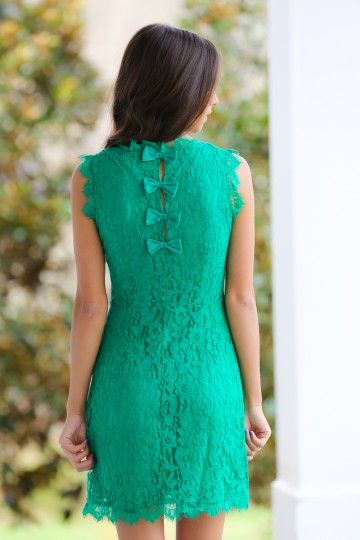 This One Time Dress-Kelly Green