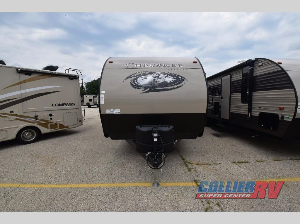 New 2018 Forest River Rv Cherokee 274dbh Travel Trailer At Collier Rockford Il