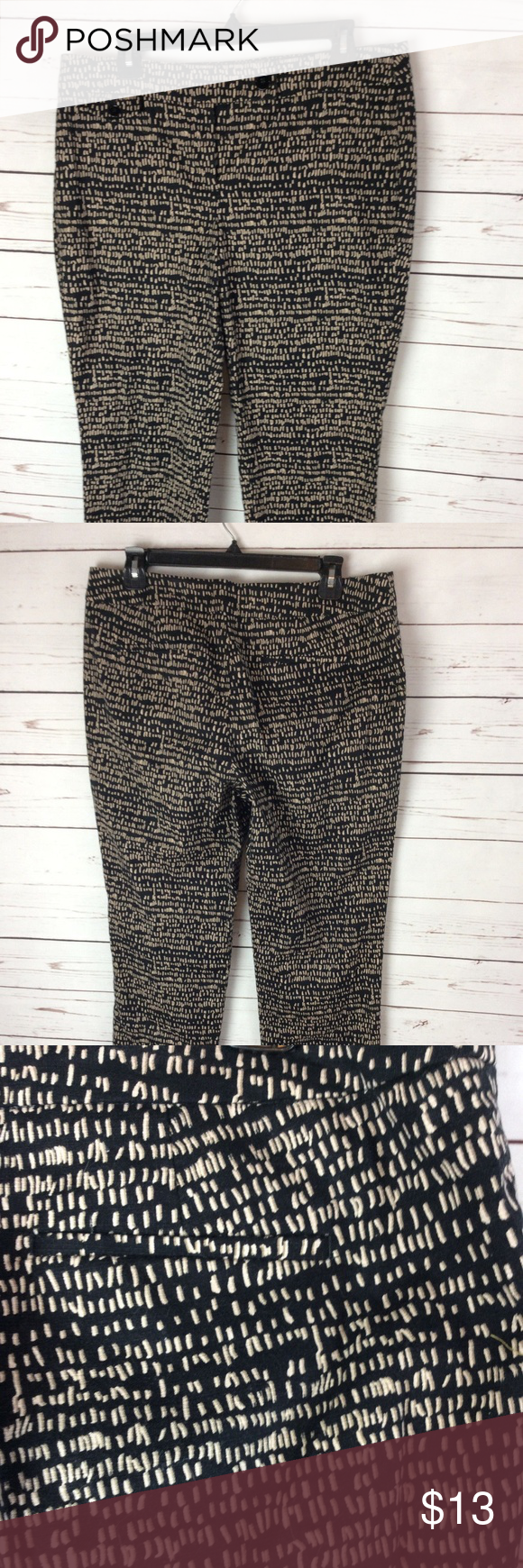 Ann Taylor Loft Womens Capri Pants Size 10 Crop 100 money