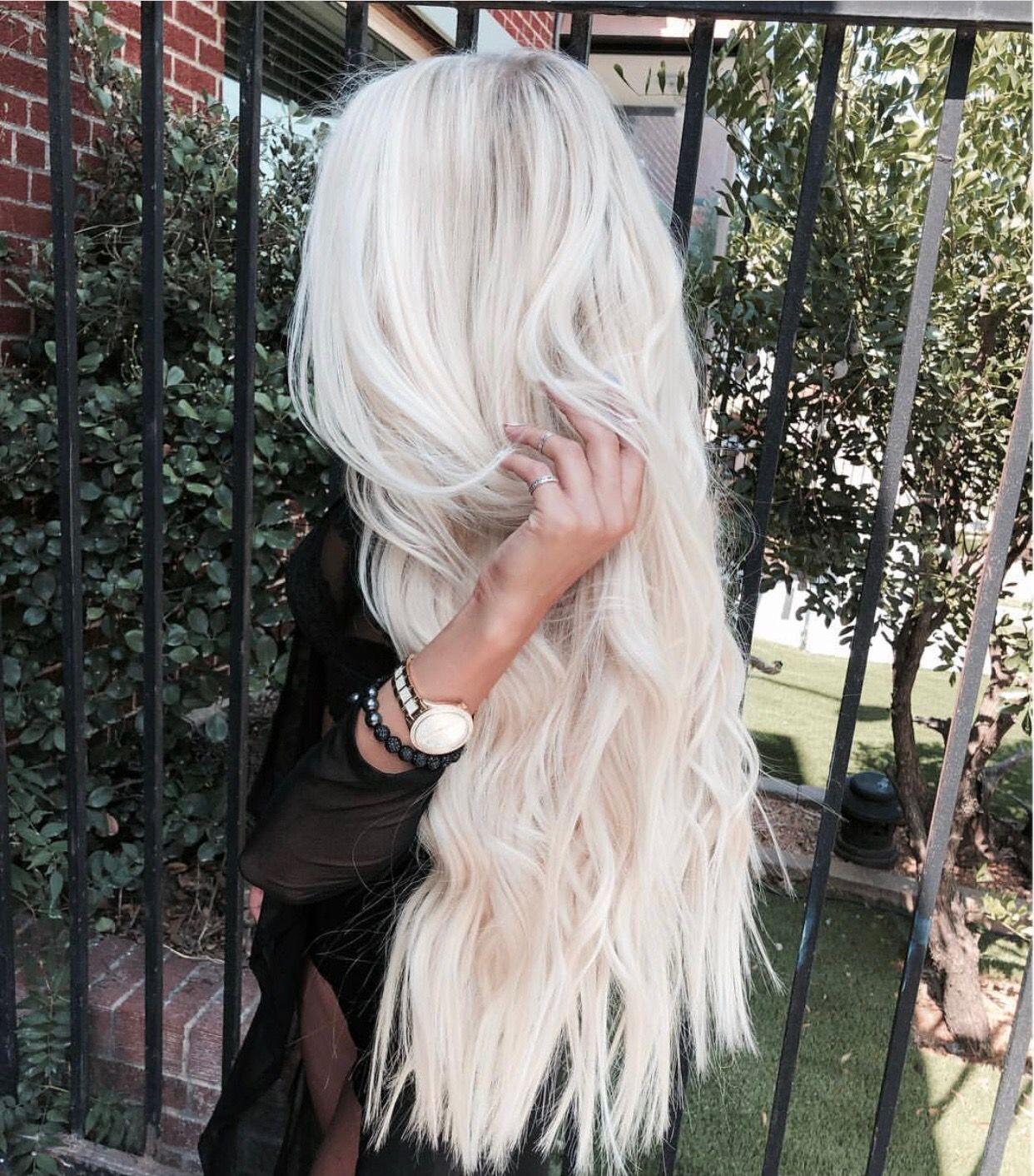 hair styles | hair colors | platinum blonde hair | icy