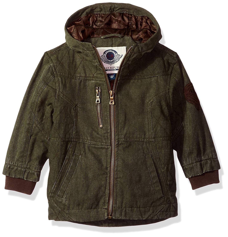 Baby Boys Cotton Canvas Jacket Olive Ci188nox4xx Kids Outdoor Clothes Cotton Twill Jacket Girls Jacket [ 1500 x 1438 Pixel ]