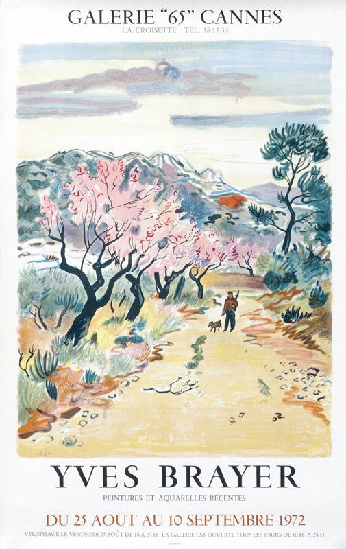 Yves Brayer Peintures Et Aquarelles Recentes Galerie 65