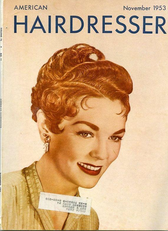 Sensational American Hairdresser Magazine Lot Of Four Vintage Beauty Salon Short Hairstyles For Black Women Fulllsitofus