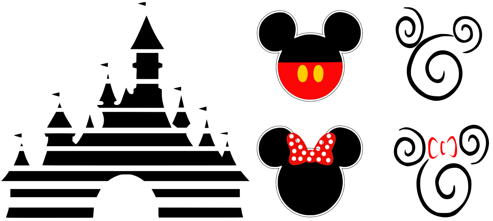 Krafty Nook Disney Resort Wear SVG Files Disney