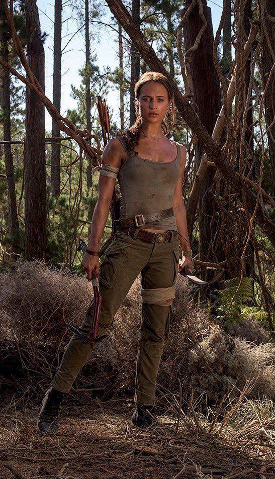 Lara Croft Alicia Vikander Tomb Raider 2018 Lara Croft