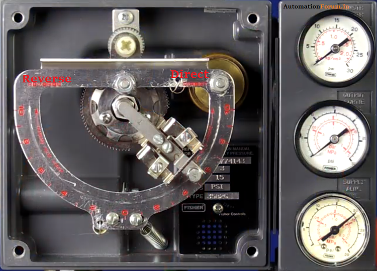 How to calibrate pneumatic control valve positioner