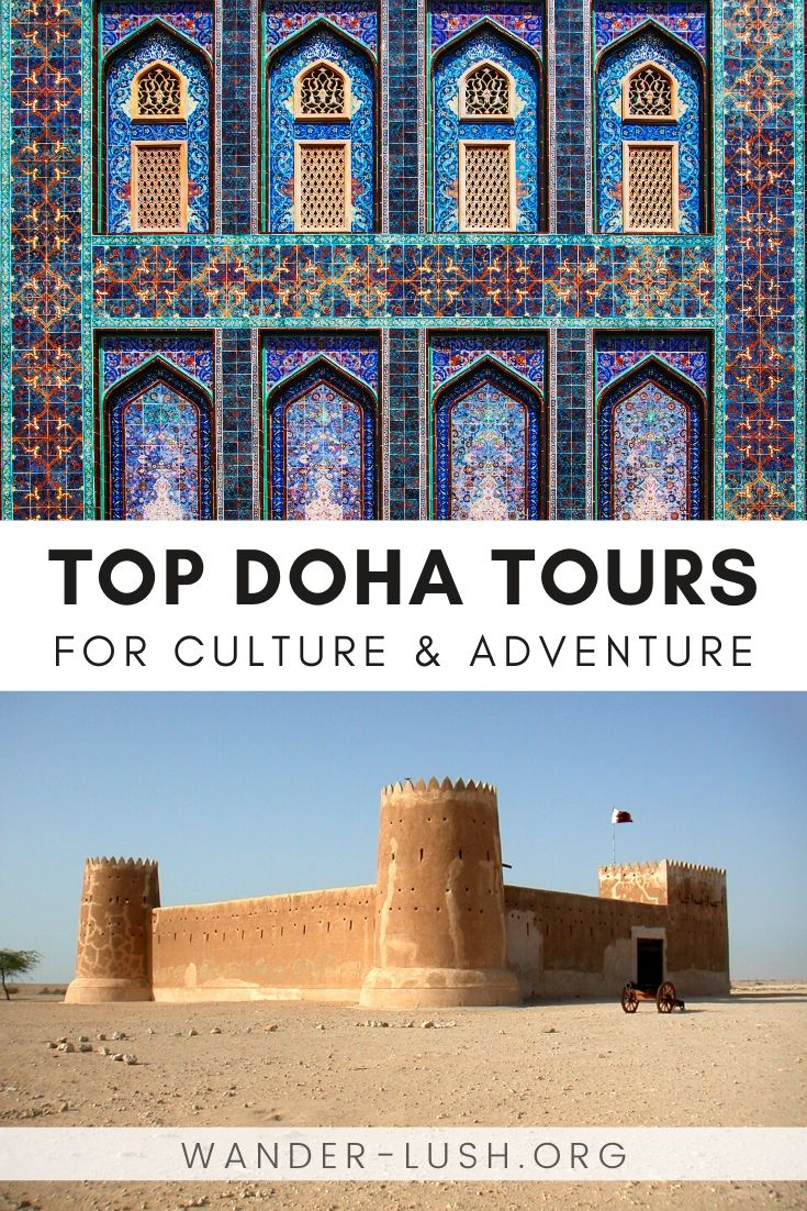 Make the most of a short visit to Doha by booking one of these top-rated Qatar tours. This curated list includes the best Doha city tours, desert tours, and day excursions. Things to do in Doha | Things to do in Qatar | Desert tour | Middle East travel