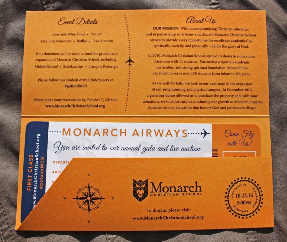 Orange & Navy World Map, Airplanes, Compass & Globe Boarding Pass ...