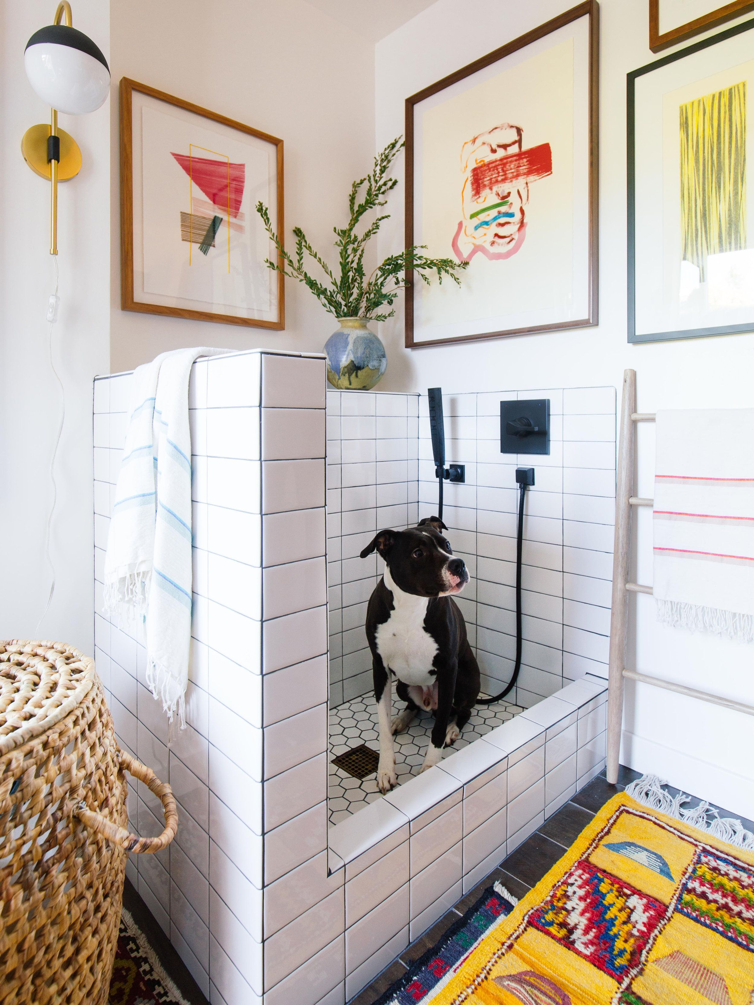Laundry Room Makeover Old Brand New Dog Washing Station Pet Washing Station Dog Wash