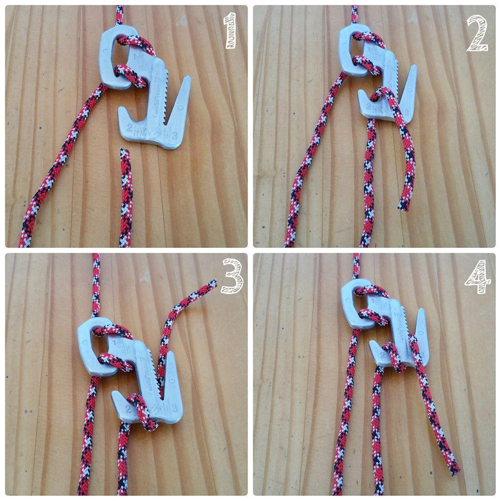 The Correct Rope Wrap with a Nite Ize Figure 9 Nite ize