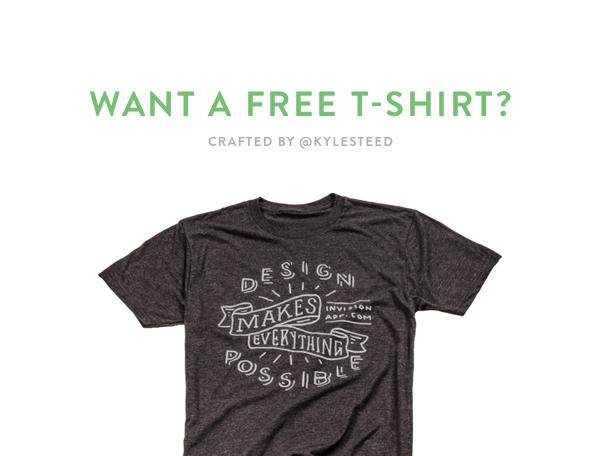 Invision On Twitter Free T Shirt Design T Shirt Free Tshirt