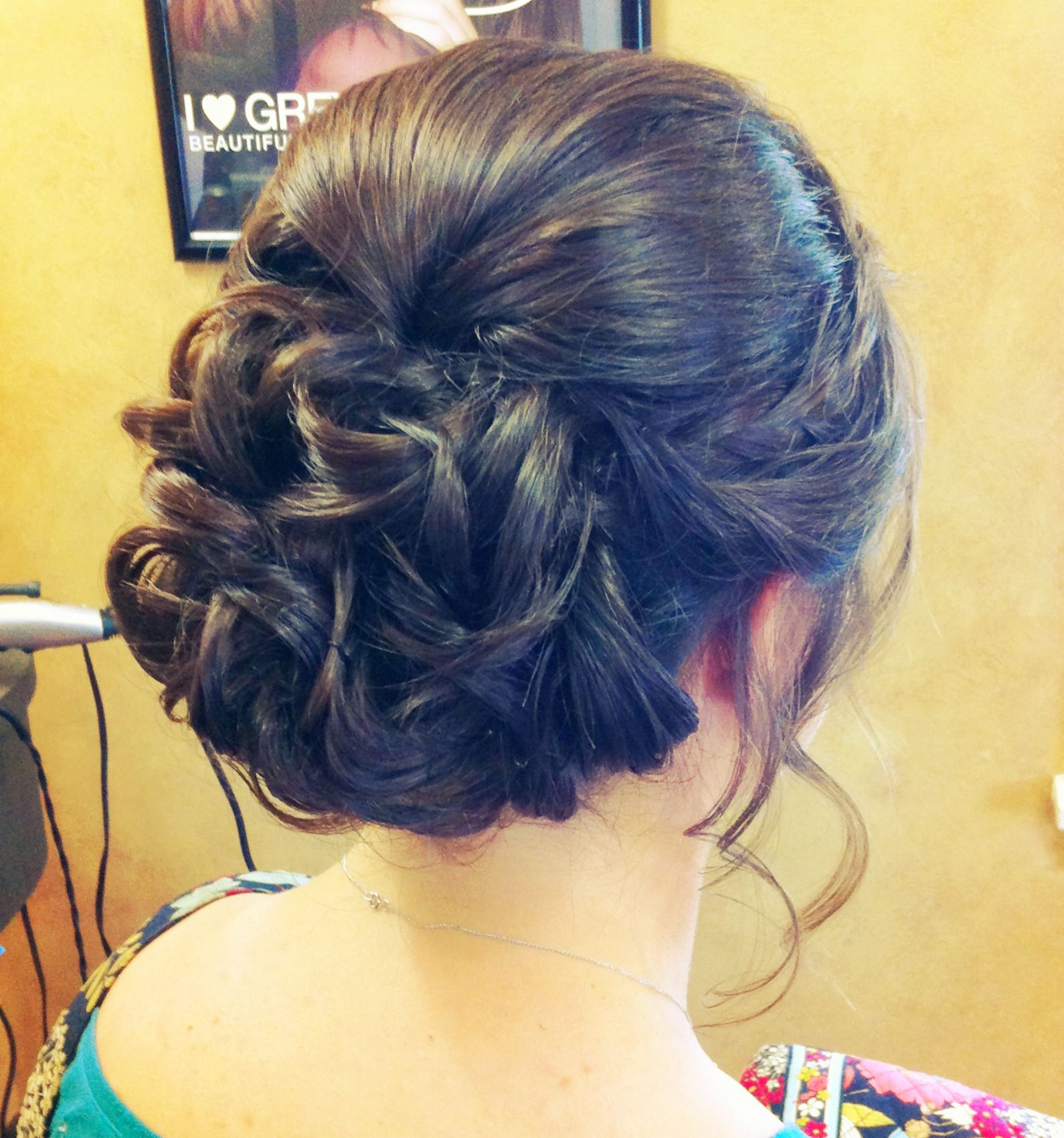 maddie's lovely updo military