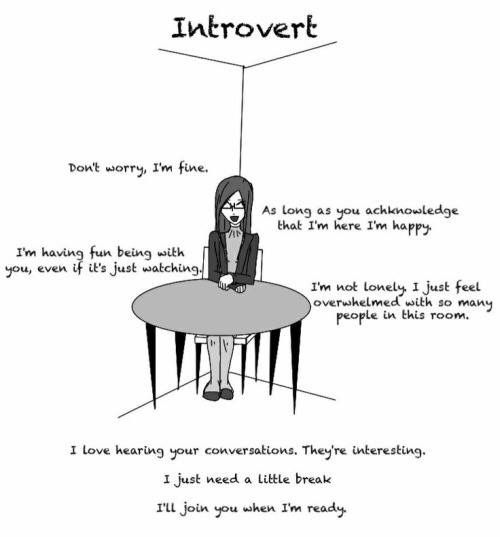how to find other introverts