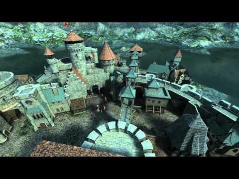 ▶ Medieval Castle 3D Screensaver - YouTube