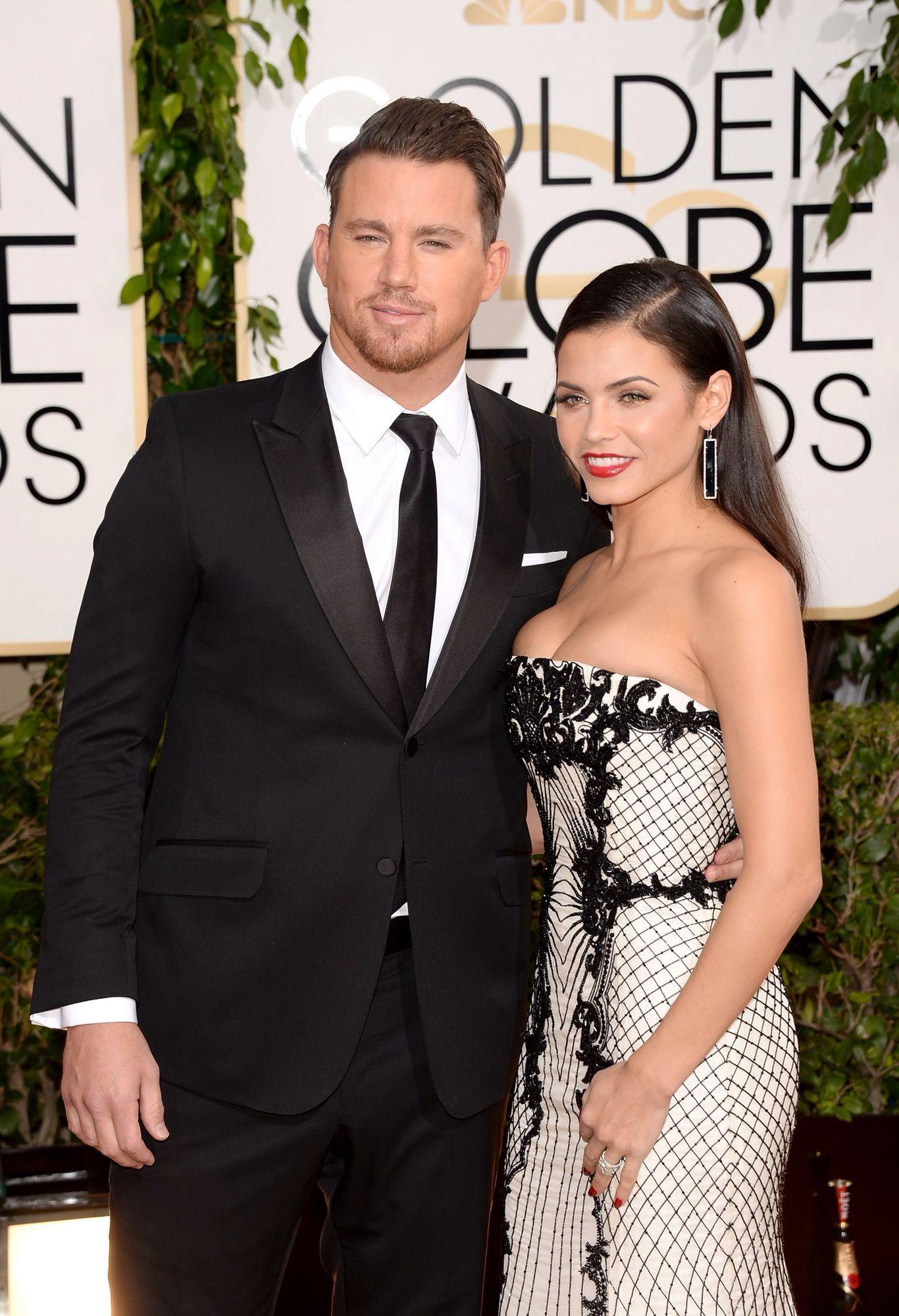 Channing & Jenna :) 2014 Golden Globes