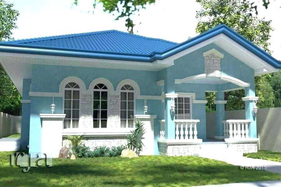 Awesome Simple House Design In The Terrace Designs For Small More Than 80 Pictures Of Bea In 2020 Philippines House Design Bungalow House Design House Design Pictures