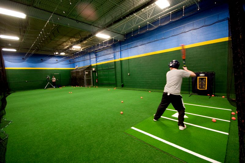ShellCage. Multiple hitting lanes, open fielding