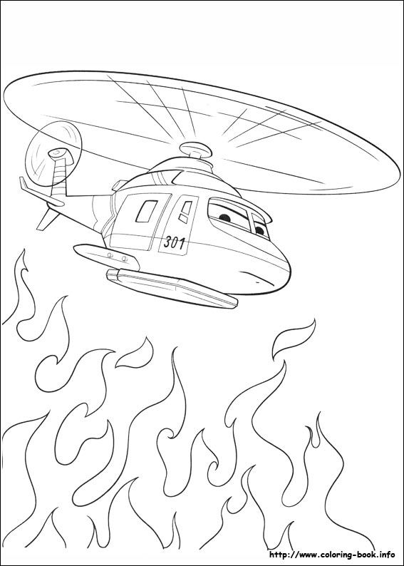 Planes: Fire & Rescue coloring picture | Kids Coloring Pages ...