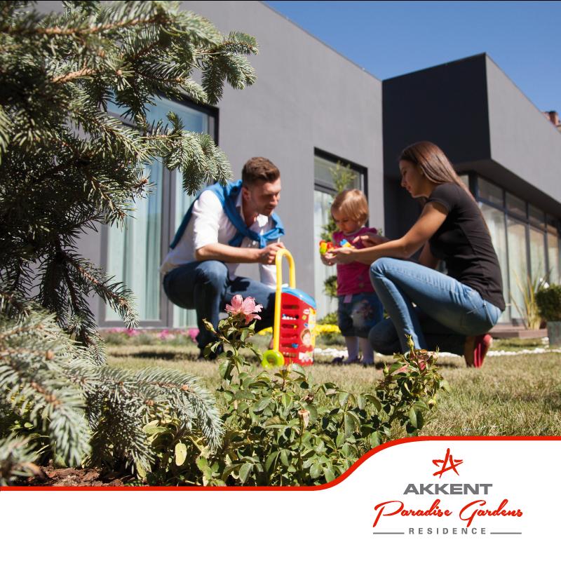 Konforlu ve kazançlı yaşamın merkezi Akkent Paradise Gardens, Akpınar güvencesiyle sizlerle.