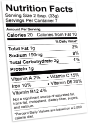 How To Make A Nutrition Facts Label For A Package  Download Free