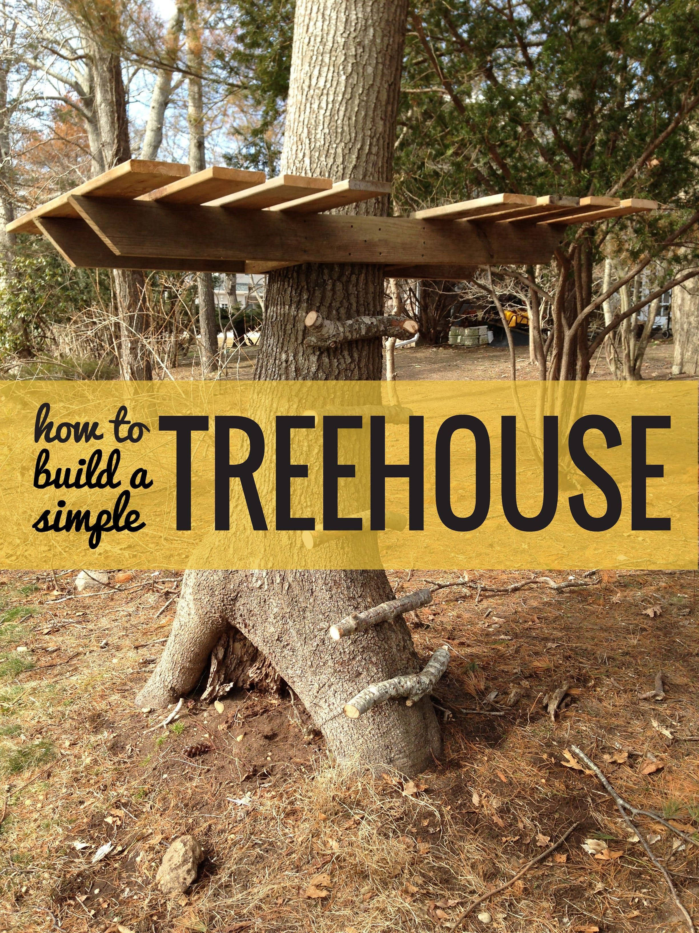 how to build a treehouse u2014 apartment therapy tutorials treehouse