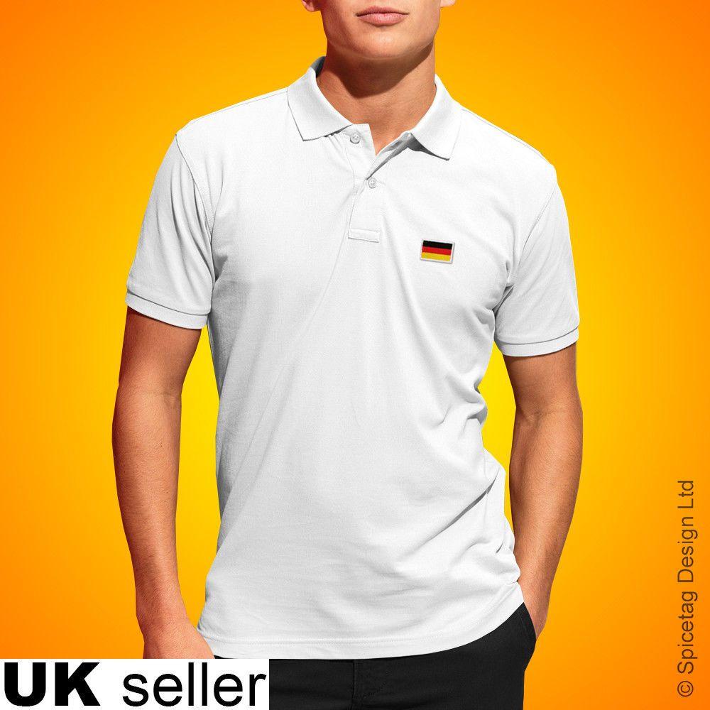 Germany Polo Shirt Football World Cup Tshirt Flag Soccer Top German Kit  2018 Tee  567622f70