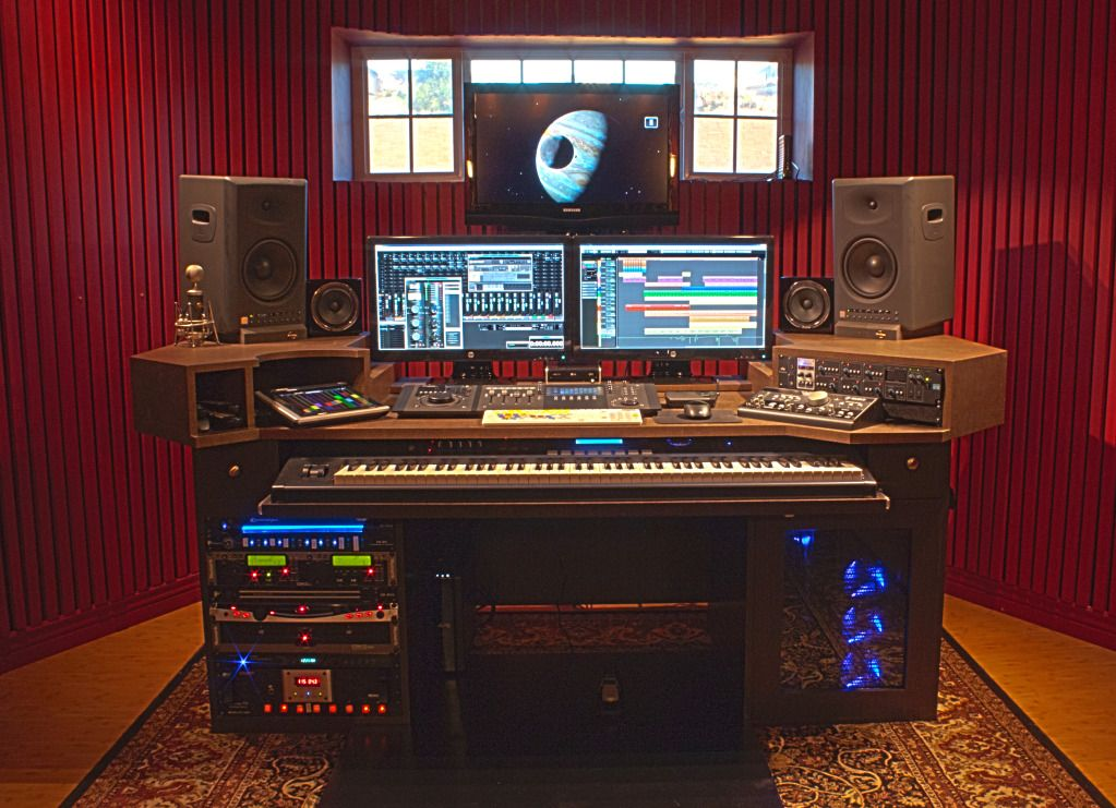 Pdf home recording studio desk plans plans free for Custom build your home